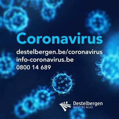 informatie coronavirus Destelbergen